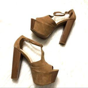 70ec1bfd845 Jessica Simpson. Jessica Simpson Dany suede platform sandal